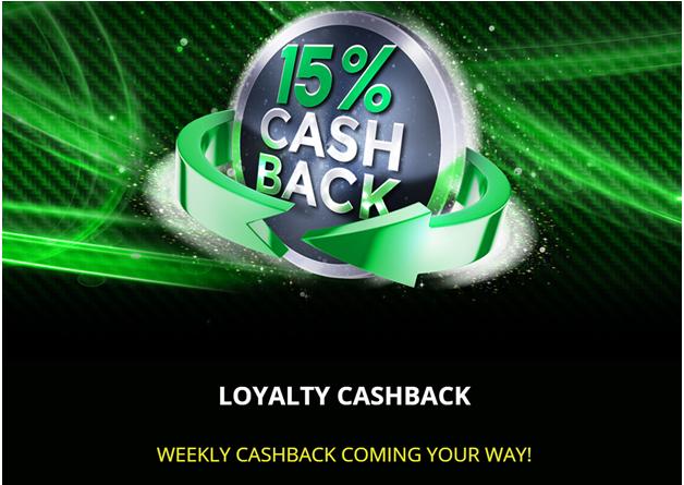 Get 15% Loyalty Cashback at Bingo Hall