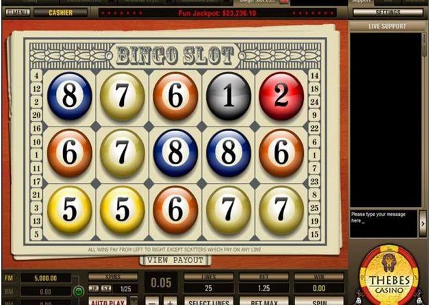 How to play Bingo slot 5 line