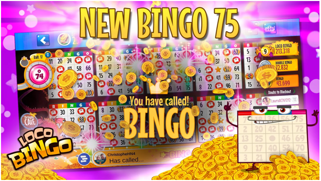 Loco Bingo - Bingo 75