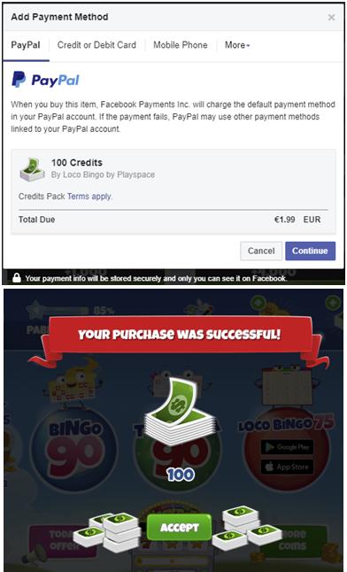 Loco Bingo purchases FB